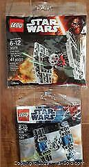Lego Star Wars First Order Special Forces TIE Fighter #30276 + TIE Fighter #8028