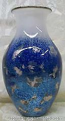 Toan Klein Experimental Art Glass Vase