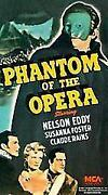 Phantom of The Opera VHS