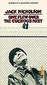 One Flew Over The Cuckoo's Nest VHS