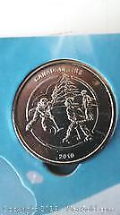 2010 Canadian Tire Collectors Coin Depicting Children Playing Hockey.