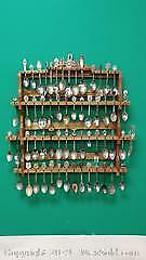 Full Wall Display of Souvenir Spoons ...W