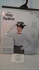 Disneys Mary Poppins accessory kit for adults (new)