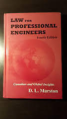 PPE: D.L. Marston - Law for Professional Engineers