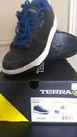 SIZE 8 to 10 TERRA MEN'S BROCK STCP SKATE SAFETY WORK SHOE CSA