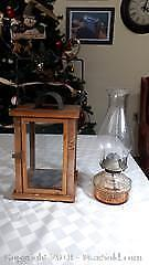 Oil Lantern and candle holder