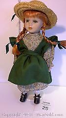 Anne of Green Gables doll on stand #1