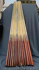 13 Vintage Billiards/Pool Cues