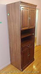 Wood Cabinet With Storage