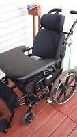 """Like New Reclining/Tilting Wheelchair - Seat 21"""" inches wide -"""