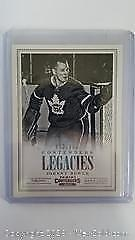 Johnny Bower Numbered Special Insert Hockey Card 443/999