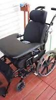 """Like New Reclining/Tilting Wheelchair - Seat 21"""" inches wide - R"""
