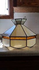 STAINED GLASS TIFFANY LIGHT