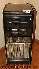 """York Audio System with bonus recordsPick up in Time-slot """"C"""" ONLY"""