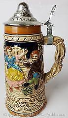 Beer Stein With Music Box