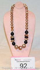 Costume jewellery, vintage MADE in AUSTRIA necklace with ORIGINAL tag.