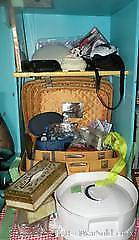 Ladies lot vintage: suitcase set, hairdryer and much more