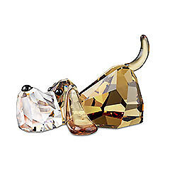 SWAROVSKI-LOVLOTS-PEPPINO-GANG-OF-DOGS-BRAND-NIB-935720-DOG-FREE-SHIPPING