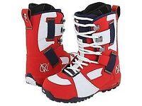 Vans snowboard boots Andreas Wig size 12 uk