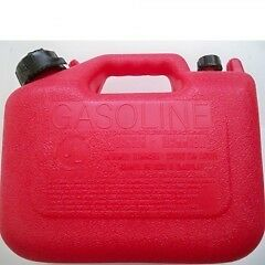 Plastic gas can - Manuf Wedco  2 available  5L