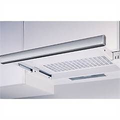 Omega 90cm Slide-Out Rangehood - White with Stainless Steel (New) Crows Nest North Sydney Area Preview