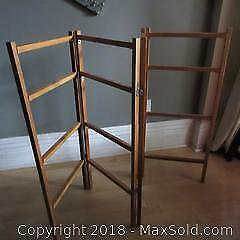 Folding Blanket Rack, Tack Board B