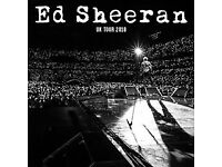 2 X Ed Sheeran tickets Manchester 27th May - 1 Disabled ticket and 1 Carer **AMAZING SEATS**