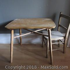 Childs Chair and Table B