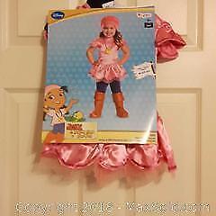 Girls deluxe toddler Halloween costume (NEW)
