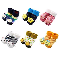 New Baby Socks Non-slip Cotton Winter Baby Boys & Girls