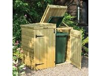 fore sale wooden dustbin store,