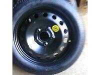 Vauxhall zafira wheel