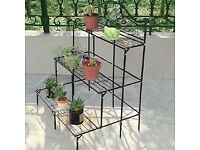 Three tier greenhouse staging/ garden plant display. New Boxed £20 OVNO
