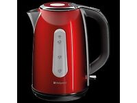 Hotpoint kettle & toaster red (brand new boxed)