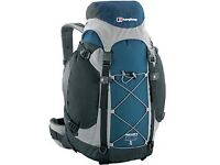 Berghaus Freeflow III 35 + 8 backpack blue/green/granite/black