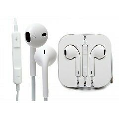 iPHONE, iPOD OR iPAD HEADPHONE EARBUDS WITH SCREEN PROTECTOR