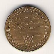 Olympische Medaille
