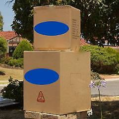 CARDBOARD BOXES FOR MOVING, PACKING  and  STORAGE - VARIOUS SIZES