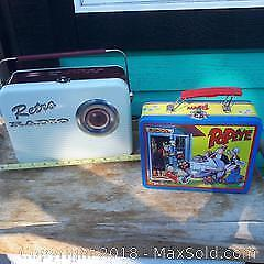 Lunch box collectables