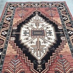 Turkish Rug-Caucasian style, machine made; in very good condition