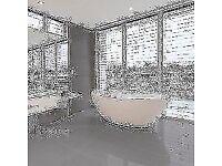 Smart Lux Graphite quartz effect Tiles (30cm x 60cm)