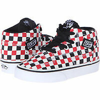 Vans half-cab checker shoes (size 7toddler)