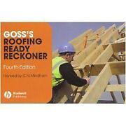 Roofing Ready Reckoner