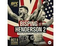 UFC 204 TICKETS x2 tickets!!