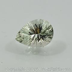 Natural 7.16 CT Green Amethyst Gemstone