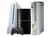 GAMES CONSOLE WANTED XBOX PLAYSTATION NINTENDO SEGA ETC STOCKPORT AREA ONLY