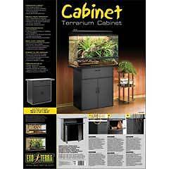 CABINET ExoTerra for tanks terrariums enclosure REPTILE FROG FISH Altona Hobsons Bay Area Preview