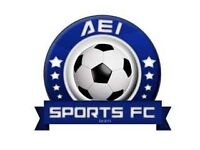AEI SPORTS FOOTBALL CLUB LOOKING FOR PLAYERS