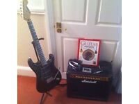 Electric Guitar and Amp Package Plus Accessories