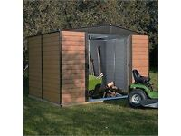 Rowlinson woodvale metal shed QUICK SALE